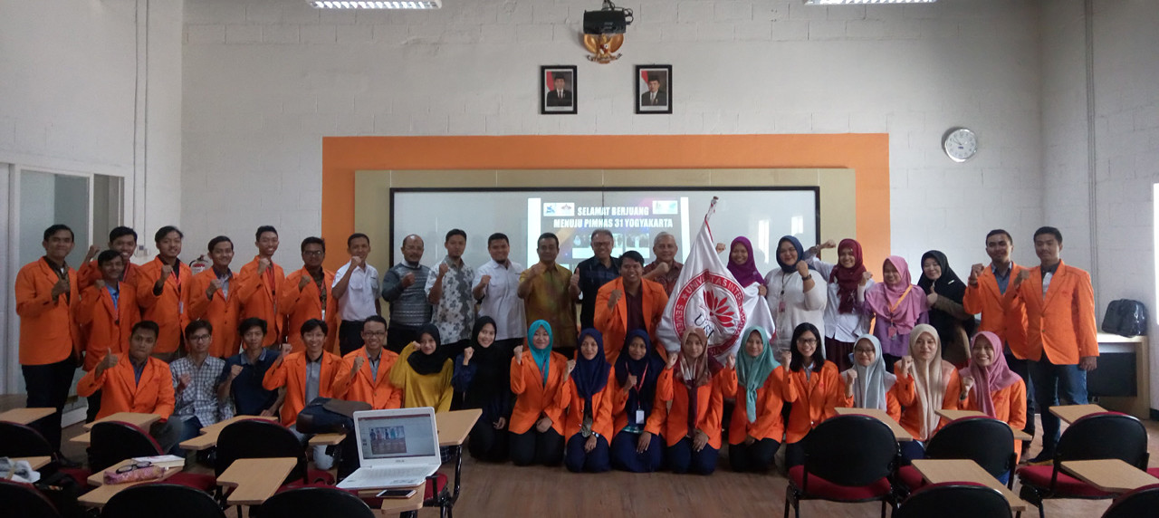 Ekspresi Peserta Tim PKM UISI beserta Perwakilan seluruh Ormawa dan Petinggi UISI