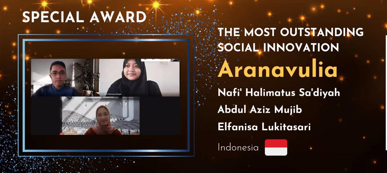 """Potret Tim UISI dalam Ajang Perlombaan """"Innovation Challenge"""" Meraih Grand & Special Award"""