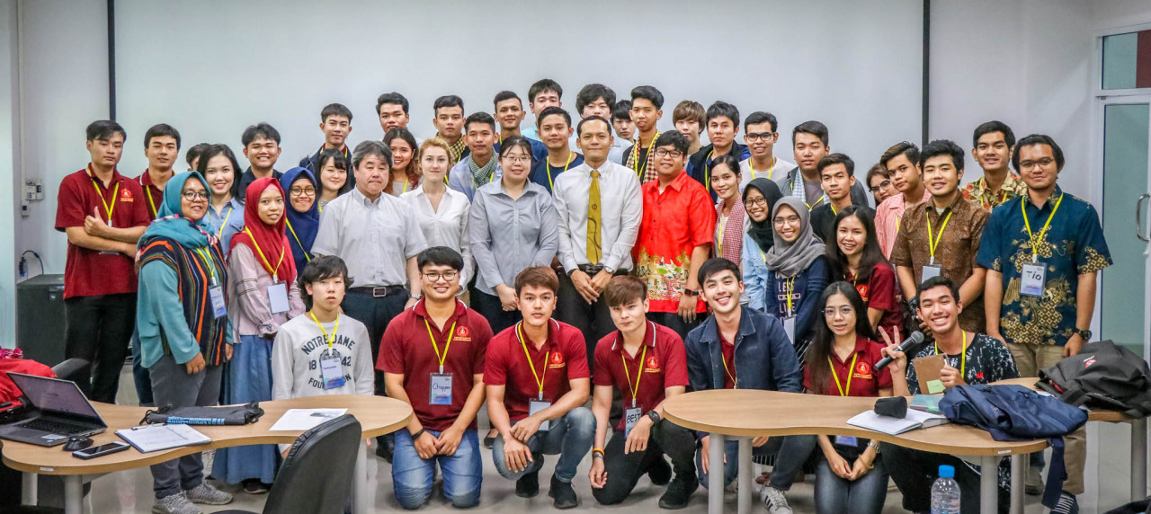 Para peserta Global Project Based Learning 2019 di Suranaree University of Technology Thailand