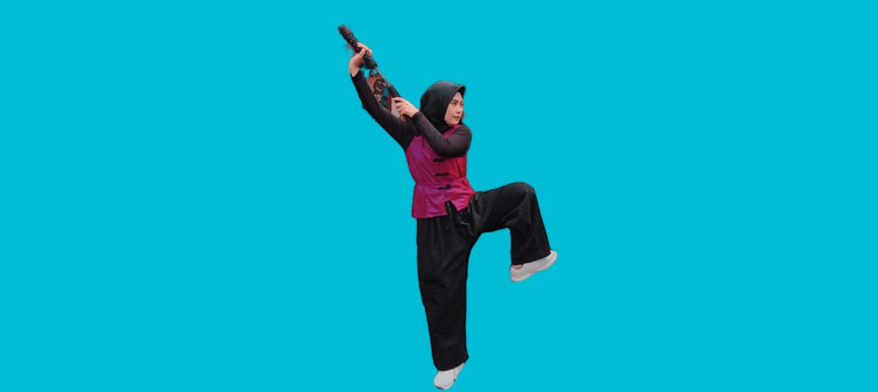 Sosok Naimah yang memenangkan kejuaraan ASIAN NUNCHAKU SHOWDOWN 2021