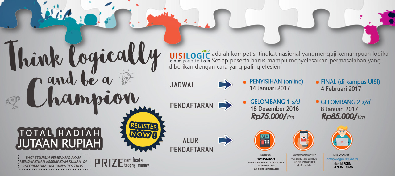 Seputar UISI Logic Competition 2017