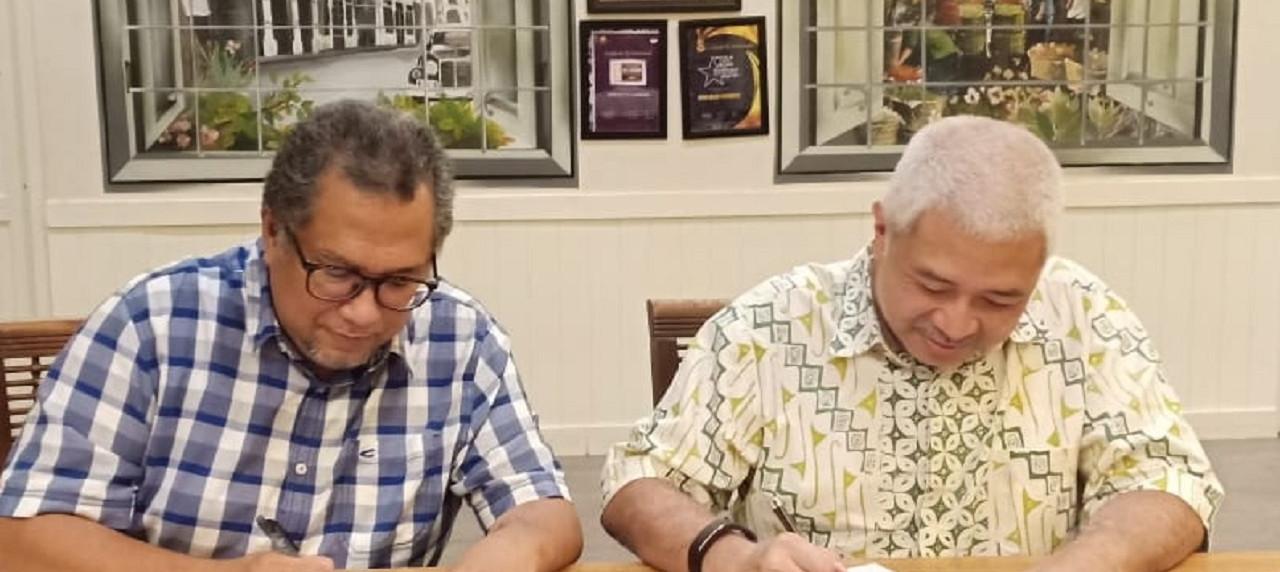 Moment sakral, penandatanganan MoA antara UISI dan UP penunjang penelitian aplikatif