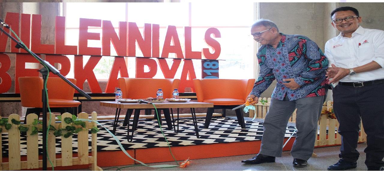 Pembukaan Millennials Berkarya 2018