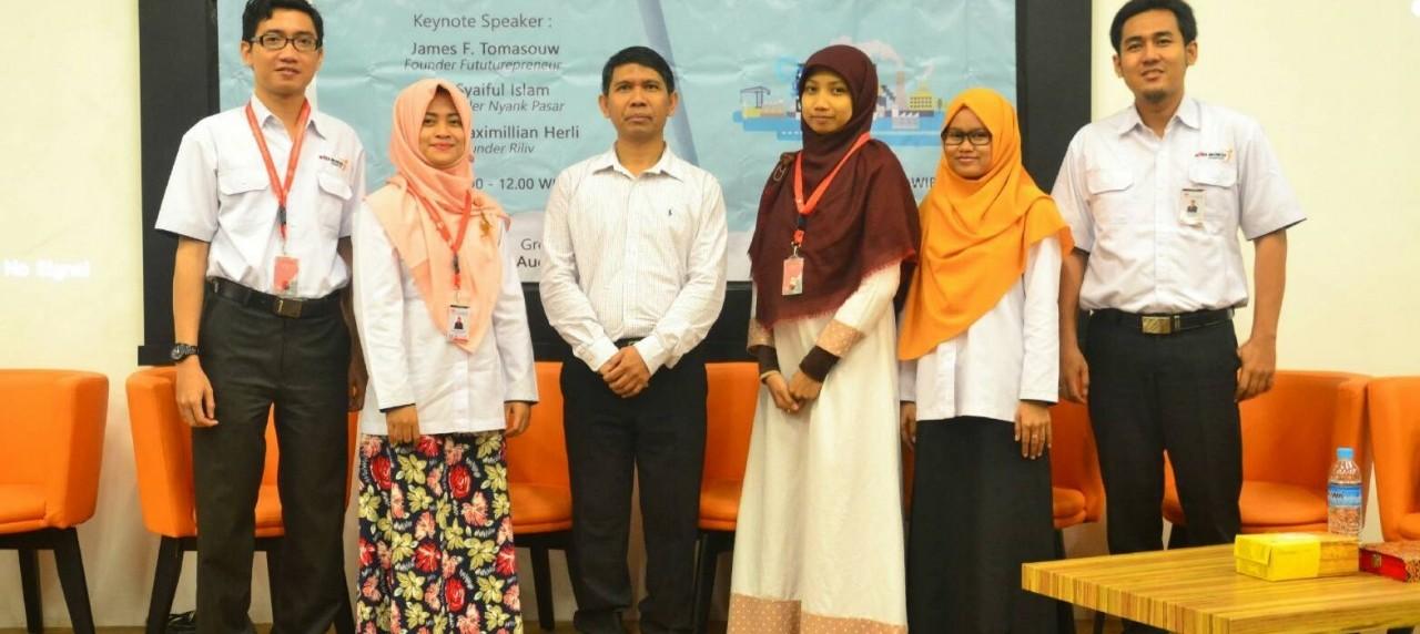 Prof. Dr. Ir. Budi Santosa M.sc, Ph.D. menjadi keynote speaker pada kuliah umum kali ini