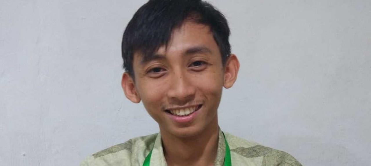 Sosok Eriawan Prayoogi salah satu alumnus UISI Departement Manajemen Rekayasa angkatan 2014