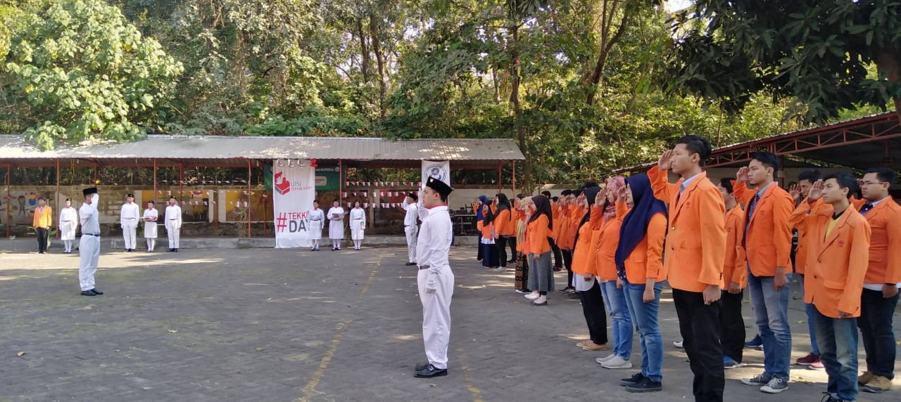 Mahasiswa UISI cerminkan nasionalisme pada Peringatan HUT RI ke 74 Tahun