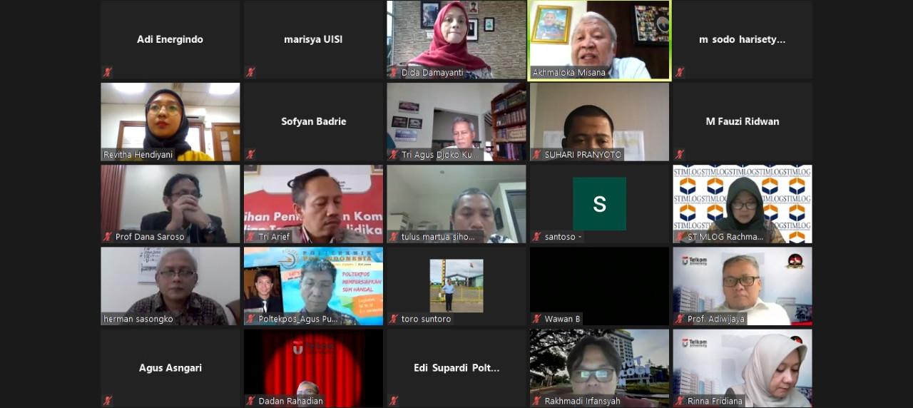 abu (22/7), telah berlangsung pengumuman penerima beasiswa APERTI BUMN via Zoom