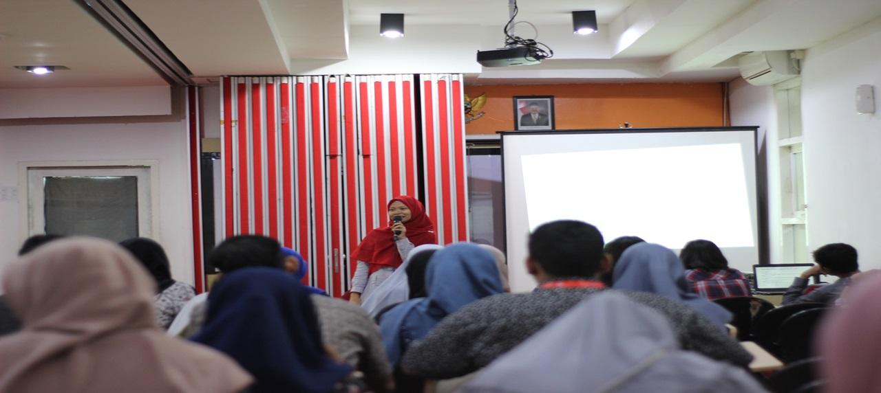 Diskusi bersama KM Manajemen Rekayasa dipandu oleh Kuntum Khoiro Ummatin, S.T., M.T