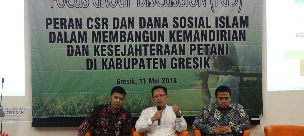 Diskusi bersama peserta oleh (dari kiri) Ir. Agus Djoko Walujo, Sigit Iko Sugondo, Bambang Tutuko