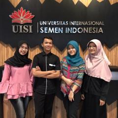 Anggota Tim Limestone mewakili UISI ke MERMC