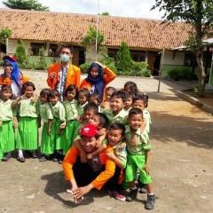 kegiatan mahasiswa bersama peserta didik TK