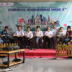 Potret salah satu perlombaan pada Chemical Engineering Week 5th di Kampus B UISI