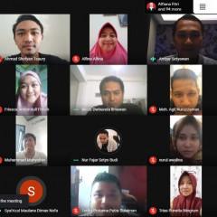 Senyum ramah Ambar Setyawan bersama para perserta saat webinar Management Week 2020 hari keempat