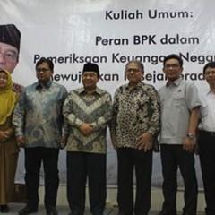Ketua BPK bersama jajaran manajemen PT Semen Indonesia