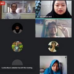 Sesi foto bersama antara Narasumber, Nurhadi ST., CPIM dengan para peserta