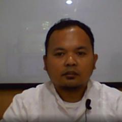 Sesi pemaparan materi yang disampaikan oleh  Sugeng Firdausi, S.E., A.K., M.M. MIFP via daring.
