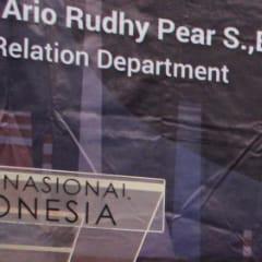 Dimas, SKK Migas Jabanusa, berbagi ilmu bersama Anggota Muda IAI Wilayah Jawa Timur