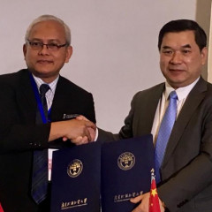 Penandatanganan MOU UISI - Guangdong University of Foreign Studies (China)