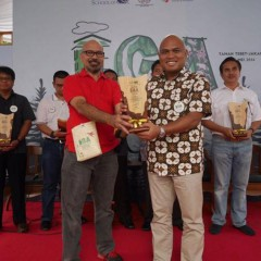 The Best Indonesia Green Awards 2016 Diterima Direktur Komersial Mukhamad Saifudin