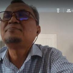 Bapak Durain P. Siregar S.T., M. T, IPM saat sedang menyampaikan materi