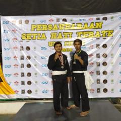 Potret para juara dalam lomba kejuaraan PSHT