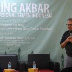 Sambutan hangat sebagai pembuka acara oleh Prof. Drs. Tjiptohadi S., M.Ec., Ph.D., CPA., CA., Ak.
