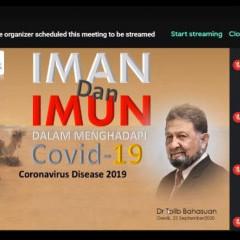 Webinar Kesehatan oleh panitia KKN UISI bekerjasama dengan Rumah Sakit Semen Gresik