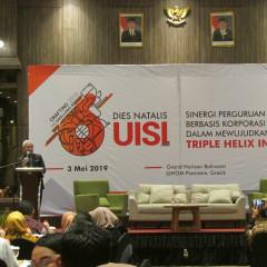Sambutan Dies Natalis ke-6 UISI oleh Prof. Dr. Ing. Herman Sasongko