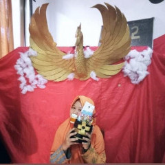 Potret Dinda Ayu Maharani dengan Senyum Bahagianya