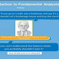 Syelma Sumanto, Most Advisor Mandiri Sekuritas, menjelaskan dasar-dasar Fundamental analysis saham.