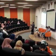 Kuliah tamu Ekonomi Syariah UISI bersama bapak Muhammad Abdul Ghani, Ph.D.