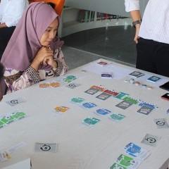 Foto peserta yang tampak antusias dalam stocklab competation