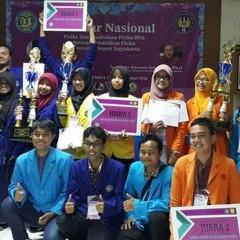 Tim UISI Berlaga di LKTI Fisika Universitas Negeri Yogyakarta