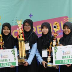 Tim dari SMKN 1 Bojonegoro yang berhasil raih juara 1 dan 3