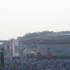 Suasana Kemeriahan HUT BUMN Pada Festival LinkAja