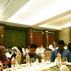 Suasana saat pemberian Materi Table Manner