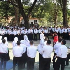 Mahasiswa baru ikut meramaikan kegiatan UKM Expo