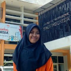 Sosok Syarifa Nur'aini Mahasiswi Departemen Teknik Kimia yang Sukses Raih Juara I MAWAPRES UISI 2020