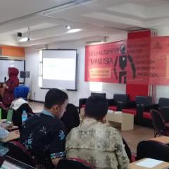 Nurul Widiastuti, S.Si., M.Si., Ph.D., menjadi narasumber dalam Pelatihan dan Rapat Kerja Akademis U