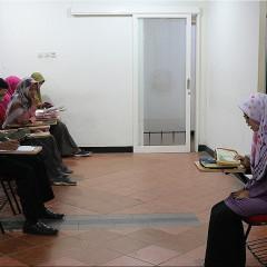 Peserta Training Islamic Competition saat menjalani tahap seleksi