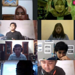 Potret berlangsungnya kegiatan Forum Teknologi berbasis Webinar