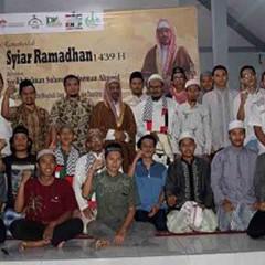 Sesi Foto Bersama Bagi Peserta Ikhwan dengan Ulama Palestina, Syeikh Mahmoud Mohammad.