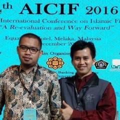 M.M., Ahmad Hudaifah, S.E., M.Ec., dan Andi Zulfikar Darussalam, S.Th.I., M. Si., M.Hum di 4th AICIF