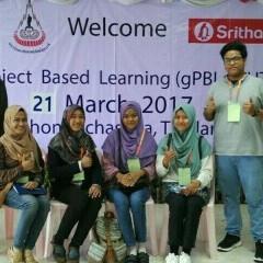Enam orang mahasiswa yang ikut dalam ajang GPBL 2017 di Thailland