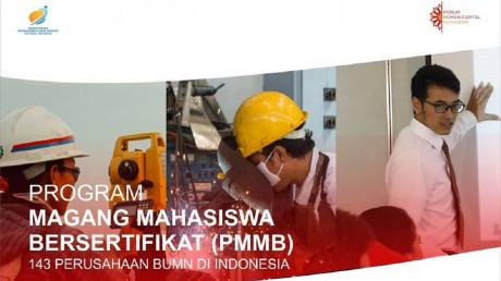 Program Magang Mahasiswa Bersertifikat (PMMB) Batch II di BUMN. Source: forumhumancapitalindonesia
