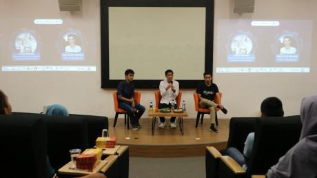 Aditya Tanjung dan Rafli Egy Wijaya guncang UISI melalui e-business dan start up