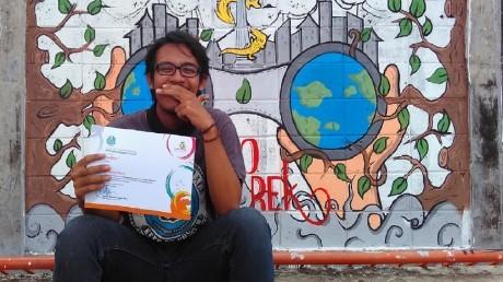 10 Peserta Terbaik Lomba Mural Se-Jawa Timur yang Diadakan UNESA November 2016
