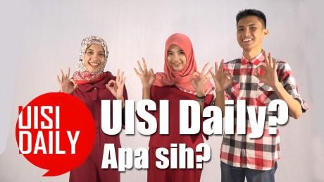 Olivia, Astari, dan Wildan, akan menjadi Host dalam program UISI Daily