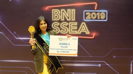 Sosok Ayuk Hartiningsih Ibrahim, S.T., peraih juara 3 Teller terbaik PT. Bank Negara Indonesia