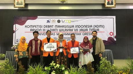 Inilah sang Juara 3 sekaligus Best Speaker KDMI 2019 Regional III Wilayah VII Jawa Timur